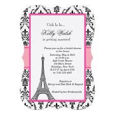 eiffel tower invitations personalized eiffel tower invitations custominvitations4u