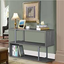 Entryway Console Table Yaheetech 3 Tiers Sofa Console Table Narrow Display
