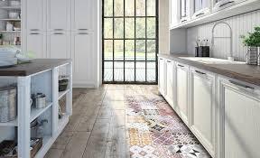 tapis cuisine sympas les tapis vinyle carreaux de ciment beija envie d