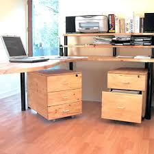 caisson bureau bois caisson de bureau en bois photos o caisson bureau bois 3 tiroirs