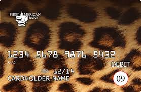 Wells Fargo Card Design Football Designer Debit Cards Available At First American Bank