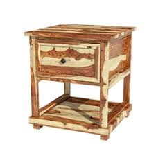 rustic wood nightstands sierra living concepts