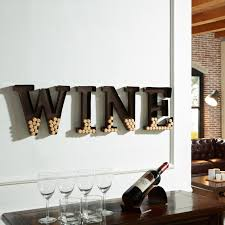 letters for home decor porch u0026 den montclair godfrey metal wall mount u0027wine u0027 letters cork
