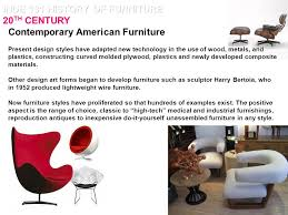 History Of Interior Design Styles Inde 131 History Of Furniture 20th Century Ppt Video Online Download