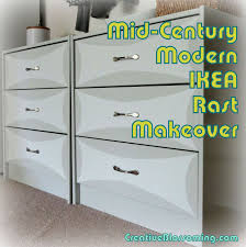 Entryway Furniture Ikea by Diy Ikea Rast Dresser Makeover Mid Century Modern Bow Tie Gray
