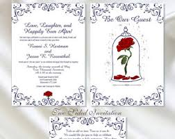 and the beast wedding invitations wedding invitation templates and the beast wedding