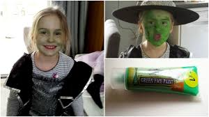 stuck with green face after halloween paint won u0027t wash off