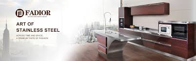 High End Kitchen Cabinet Manufacturers Custom Luxury High End Stainless Steel Kitchen Cabinets Wholesale