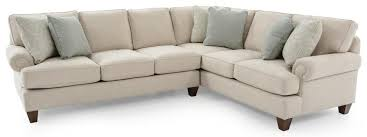 custom sectional sofas craftmaster c9 custom collection c91452 c914258 cognac 10