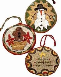pne punch needle ornaments ali strebel designs wool