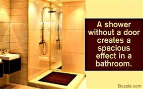 Shower Room Door Convenient And Walk In Showers Without Doors