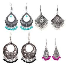 jhumka earrings earrings online upto 80 on designer earrings jhumka gold