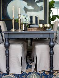 Living Room Table Accessories 15 Ways To Dress Up Your Dining Room Walls Hgtv S Decorating