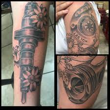 turbo tattoo sleeve images tagged with dieselpiston on instagram
