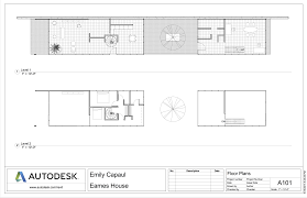 Case Study Houses Floor Plans by Eames House Emily Capaul Portfolio