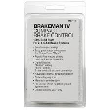 brakeman iv brake controller 8507111 reese towpower with regard to