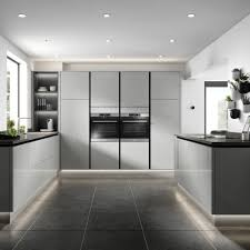 kitchen cabinet lighting b q modern kitchen ideas cook up a in a contemporary space