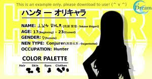 psycho pass character profile template gimp by criazudre on