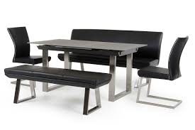 Small Formal Dining Room Sets Dining Tables Astonishing Modern Black Dining Table Long Black