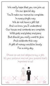 how to register for honeymoon money 40 wedding poems asking for money gifts not presents ref no 1