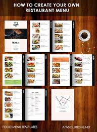 menu bar templates how to create your own restaurant menu drink menu bar menu food