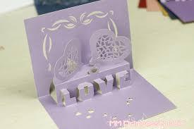 3d three dimensional greeting card diy paper cut crafts sculpture