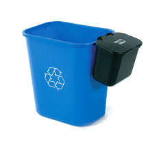 Small Waste Basket by Hanging Waste Baskets Busch Systems Usa