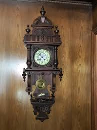 German Grandfather Clocks Antique German Black Forest Hand Carved Grandfather Clock