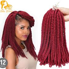 ombre senegalese twists braiding hair medium size crochet braid hair 12 65g 16 roots havana mambo