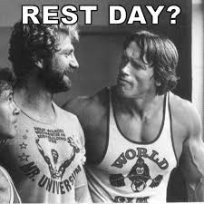 Gym Rest Day Meme - tip 1 rest makes you stronger mtt fitness