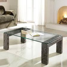 Wohnzimmertisch Quadratisch Glas Wohnzimmertisch Wohnzimmer Designer Stein Glasplatte