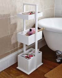 Tongue And Groove Bathroom Storage Unit by Update Bathroom On A Budget