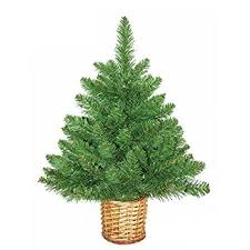 imposing decoration small artificial trees poconos pine