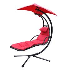Outdoor Hanging Lounge Chair Aliexpress Com Buy Chaise Lounger Hanging Chair Arc Stand Air