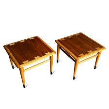 lane acclaim end table pair of mid century modern lane acclaim end tables urban dwellers