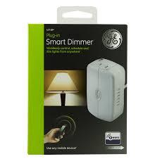 ge z wave wireless smart lighting control lamp module dimmer