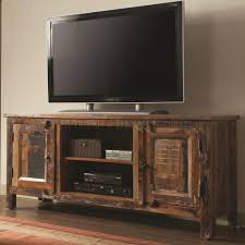 700303 tv stand by coaster in reclaimed wood