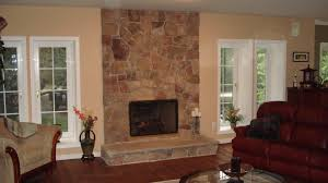 how to redo a fireplace with stone decorating ideas contemporary