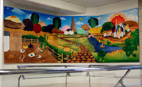 Girls Murals by Mount Girls Paint A Mural For My Cafe A Culinary Journey With