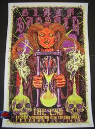 black sabbath kyler sharp tacoma poster s n artist edition glow in