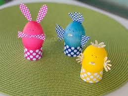 kids easter eggs kids craft dyed easter egg animals hgtv