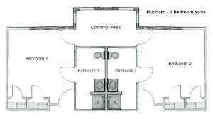 dorm room floor plan hubbard hall