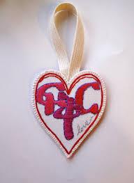 Heart Home Decor Heart Ornament With Amharic Word For Love Fikir