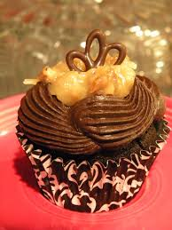 ze cookie lounge german chocolate cupcake