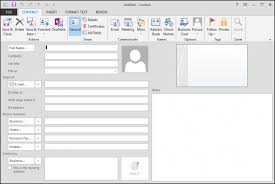 how to create an outlook address book in 2013 how to create and manage contacts in outlook 2013
