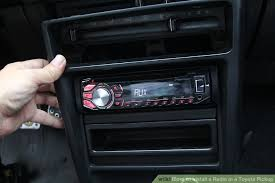 1982 Toyota Pickup Interior How To Install A Radio In A Toyota Pickup 5 Steps With Pictures