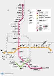 Metro Redline Map Travel Itinerary U003e Getting Around U003e Mrt U003e Kaohsiung Rapid Transit