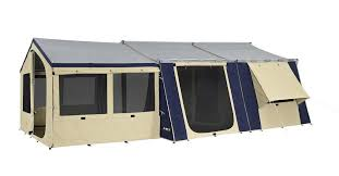 Oztent Awning Oztrail 15x16 Canvas Cabin Tent Tentworld