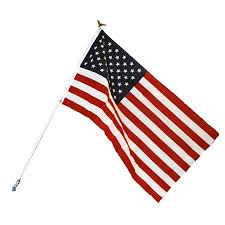 Seasonal Designs Flag Pole Shop Independence Flag 5 Ft W X 3 Ft H American Flag At Lowes Com