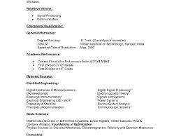 sle electrical engineering resume internship format crafty design resume for simple student format engineering